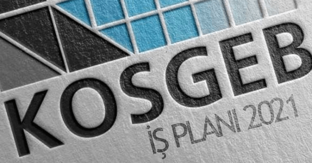 KOSGEB İş Planı Doldurmak İçin Bilinmesi Gereken Kurallar 2021